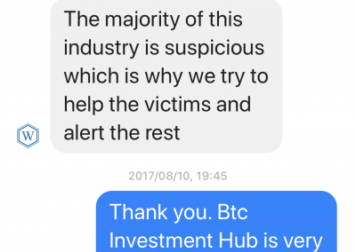 BTC Global Wealth Recovery