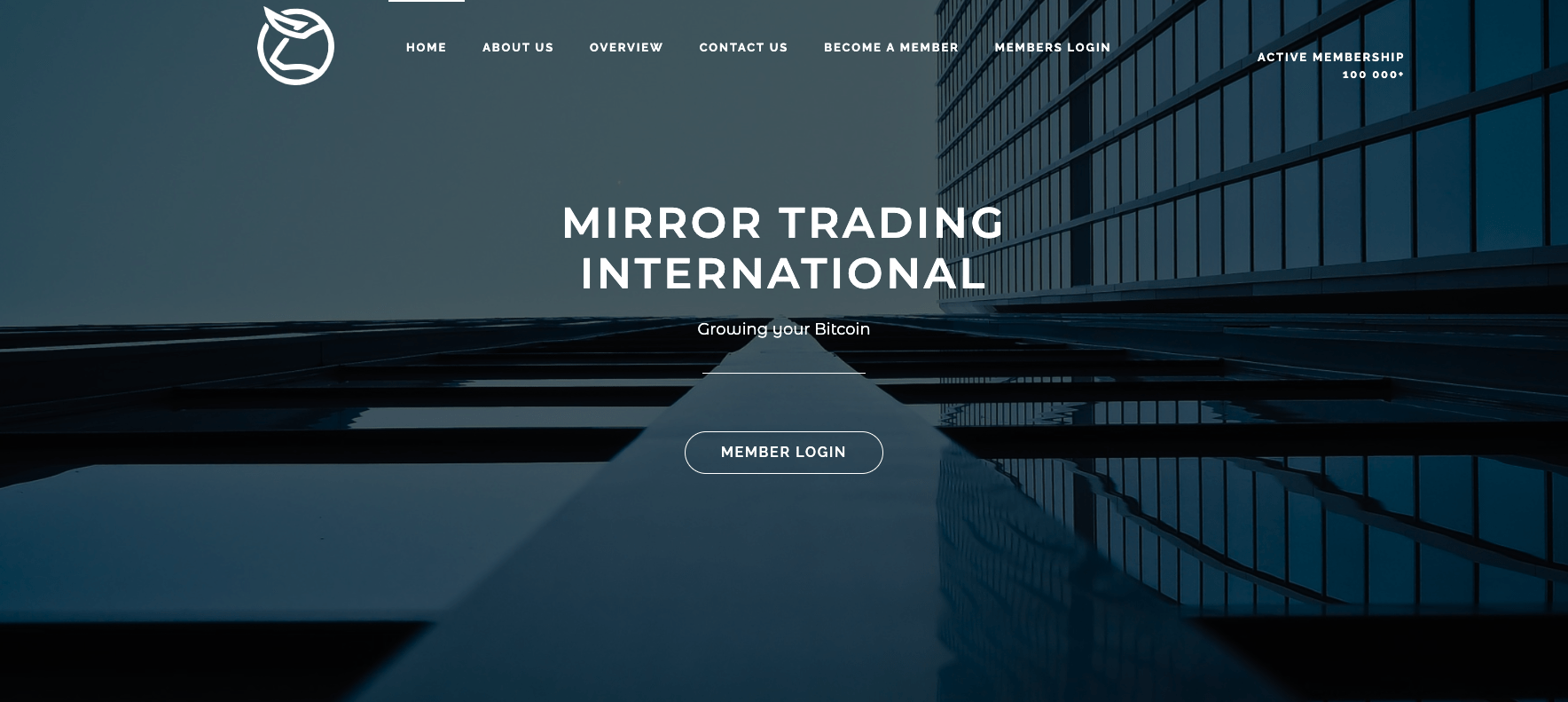 Mirror Trading International news release